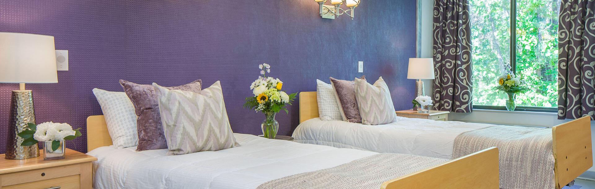 Bedroom at Oasis Rehab